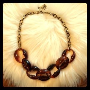 Ann Taylor Loft chunky chain necklace